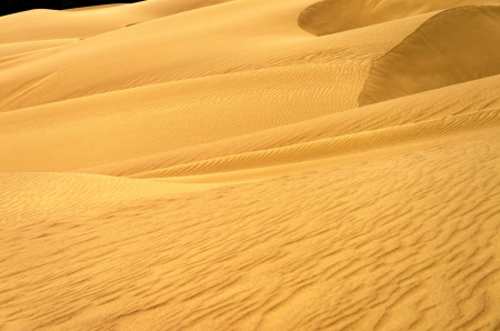 nazareth: View of a sand dune in Macuira National Park in La Guajira, Colombia Stock Photo