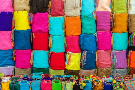 Souvenir bags for sale in Cartagena, Colombia   They are called  Imagens