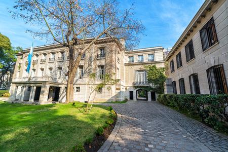 ambassador: Residence of the Argentine ambassador to Chile in Santiago de Chile