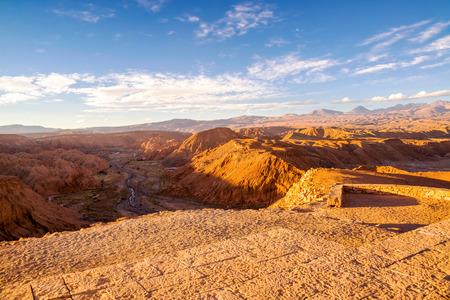atacama: View of the Atacama Desert near San Pedro, Chile