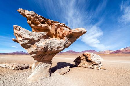 arbol: Formaci�n rocosa en Uyuni, Bolivia conocida como Arbol de Piedra