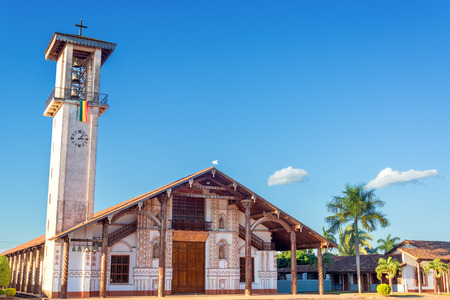 ignacio: Jesuit Mission church in San Ignacio, Bolivia