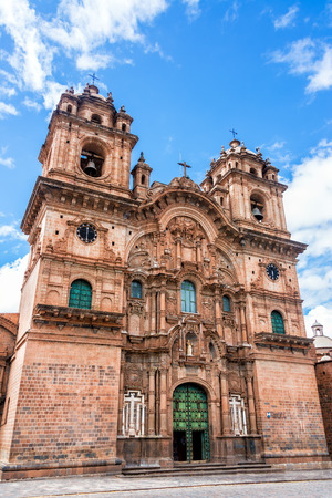 cuzco: Church of the Society of Jesus on the Plaza de Armas in Cusco, Peru