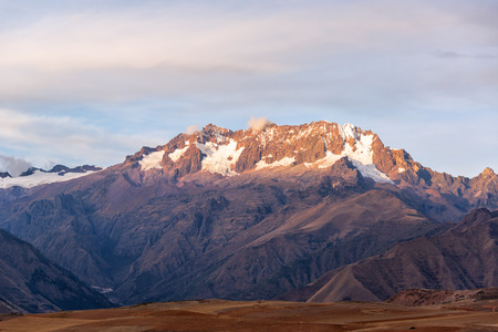 sacred valley of the incas: View of the Andes mountains in the Sacred Valley near Cusco, Peru