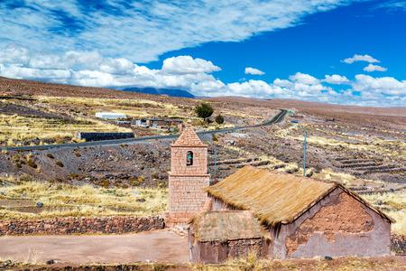 san pedro: Old historic church at Socaire near San Pedro de Atacama, Chile