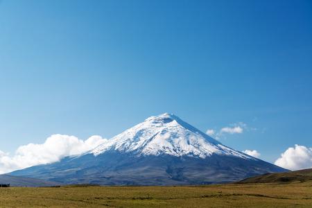 Cotopaxi volcano view just south of Quito, Ecuador Stock Photo
