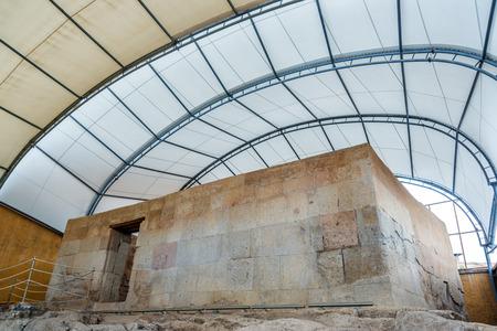 inca: The Ransom Room in Cajamarca, Peru is where Inca Atahualpa was held prisoner by the Spanish