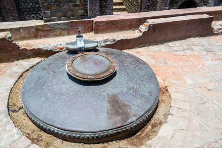previously: Old equipment previously used in the production of pisco in Ica, Peru