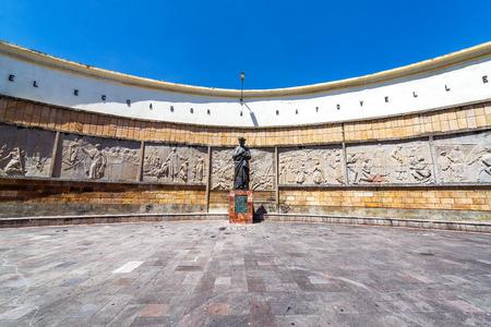 cuenca: Historic plaza in the center of Cuenca Ecuador