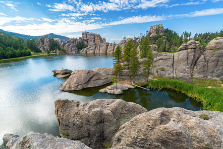 sylvan: Beautiful Sylvan Lake in Custer State Park