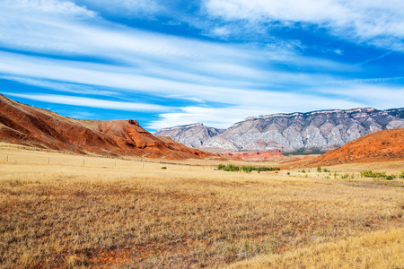 Stunning landscape outside of Shell, Wyoming