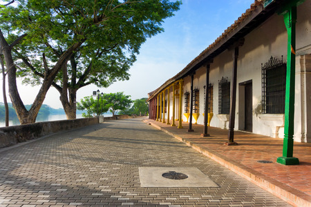 magdalena: Colonial architecture in Mompox, Colombia on the Magdalena River