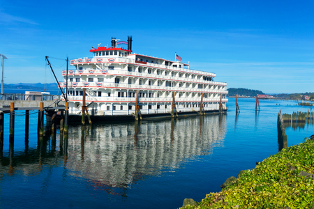 Riverboat on the Columbia River in Astoria, Oregon