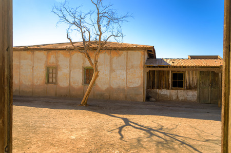 nitrate: Ruins of the UNESCO World Heritage site of Humberstone, Chile