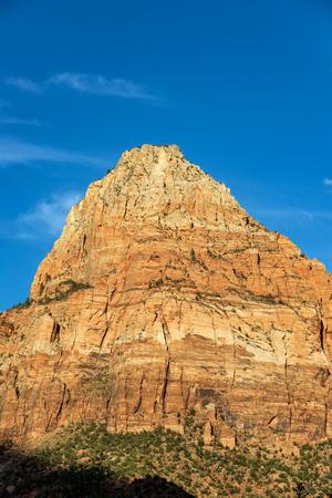 Beautiful light illuminating Zion National Park in Utah