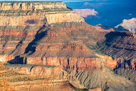 Beautiful view of details within the Grand Canyon in Arizona