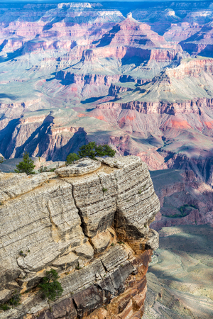 Rocky outcropping in Grand Canyon National Park Stock Photo