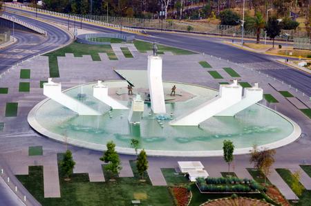ignacio: PUEBLA, MEXICO - MARCH 2: View of the monument of Ignacio Zaragoza Seguin, a general in the Mexican army in Puebla, Mexico on March 2, 2017