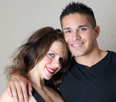 Young Couple Smiling Stock Photo - 8479433