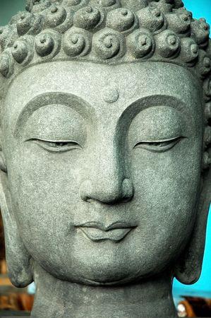 stone buddha: Statue of Buddha