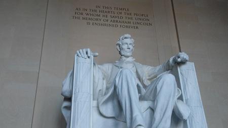Washington DC USA - May 5, 2018 - The Lincoln Memorial Editorial