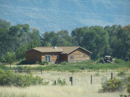 Montana House along the road