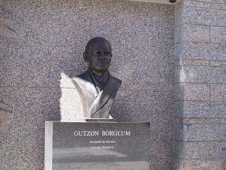 Gutzon Borglum Bust