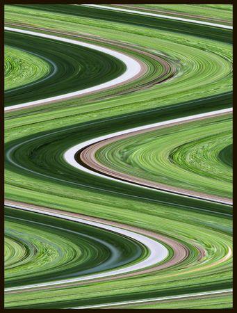 Abstract zig zag Reklamní fotografie