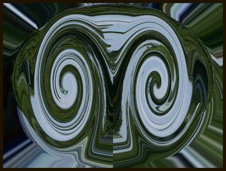 Abstract face Reklamní fotografie