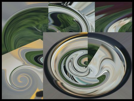 Abstract feeling of motion