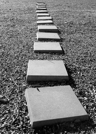 Black & White Steps