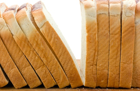 Sliced  Bread on white Stock Photo - 9969777