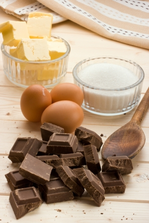 huevos de chocolate: Ingredientes Pastel de mantequilla, az�car, huevos de chocolate.