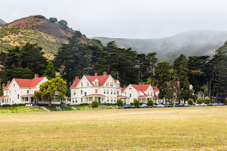 marin: Cavallo Point in the Fort Baker area in the city of Sausalito, Marin County, California