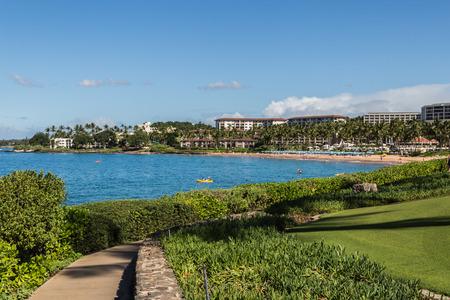 maui: Wailea Beach, Maui Stock Photo