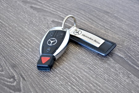 Amazing MARYLAND, USA   APRIL 10, 2016: A Mercedes Benz Key Fob Laying.. Stock  Photo, Picture And Royalty Free Image. Image 55986989.