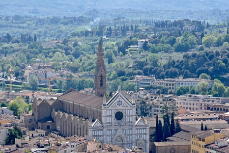 florence italy: City view of Florence Italy