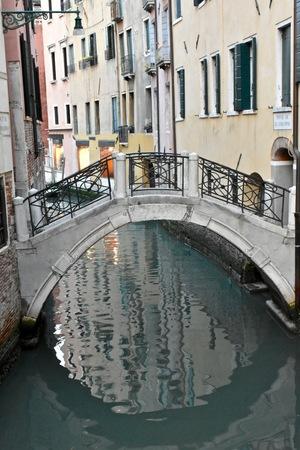 venician: Water canal in Venice