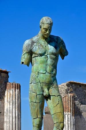 Pompeji Italien Statue