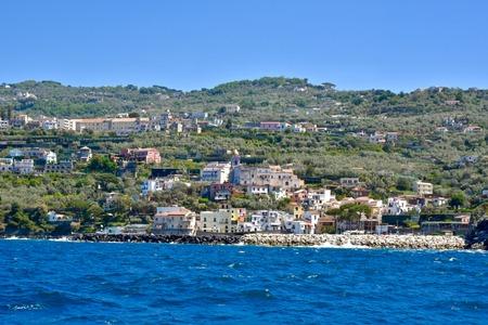 The beautiful landscape of the Amalfi coast