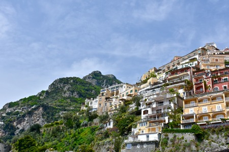 Beautiful town of Positano Italy Stock Photo