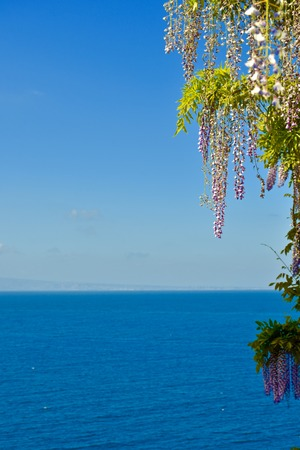 Amazing ocean view from Sorrento Italy
