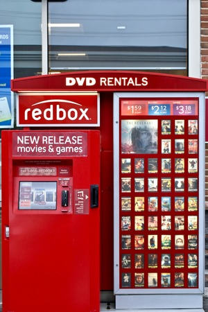 kiosk: Redbox kiosk