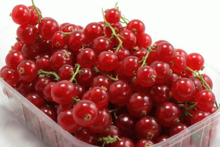 Basket of currants photo