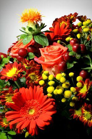 politeness: Flowers prepared by a craftsman florist