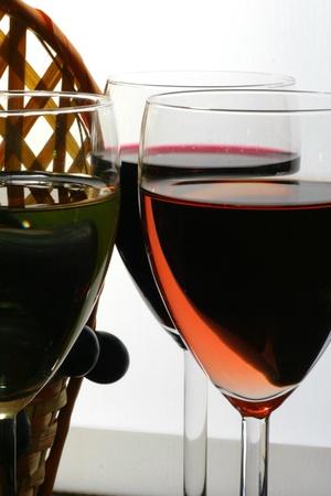 Tasting of glasses of wine Stock Photo - 8505921