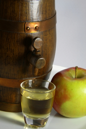 Alcohol of apple, speciality of France