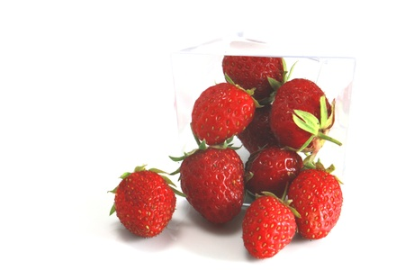 Strawberries in close-up Stock Photo - 9715685