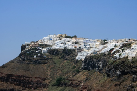 Landscape of Santorin - Cyclades