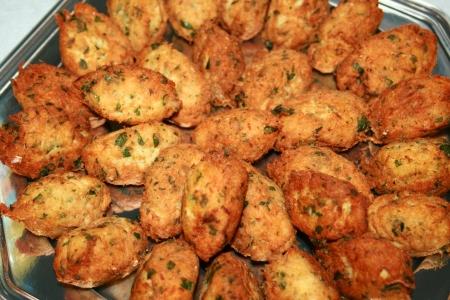 Cod fish cakes